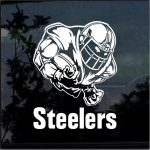 Pittsburgh Steelers Football player Window Decal Sticker