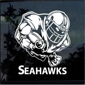 Seattle Seahawks Football player Decal