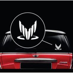 Spectre Mass Effect Window Decal Sticker