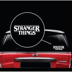 Stranger Things Window Decal Sticker