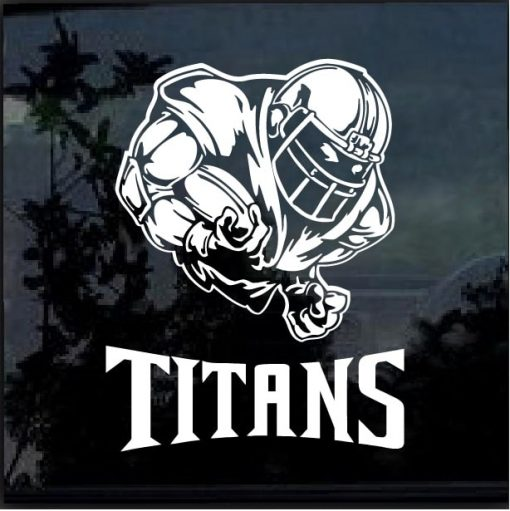 Tennessee Titans Football player Window Decal Sticker