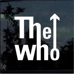 The Who Band Window Decal Sticker