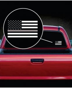 Thin Grey Line Corrections Officer Window Decal Sticker