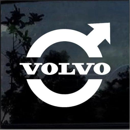 Volvo logo Vinyl Window Decal Sticker