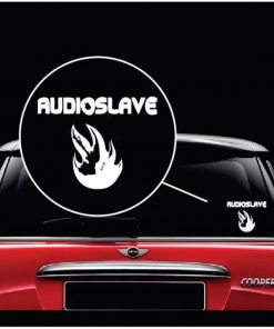 Audioslave Audio Salve Band Vinyl Window Decal Sticker