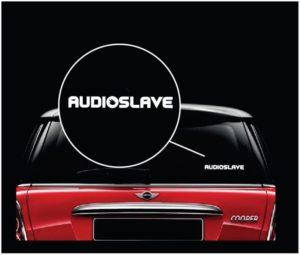 Audioslave Audio Salve Band Vinyl Window Decal Sticker a2