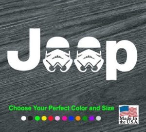 jeep storm trooper decal sticker