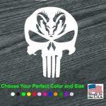 Dodge Ram Head Punisher Truck Decal Sticker