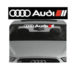 Audi Windshield Banner Decal Sticker