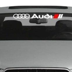 Audi Windshield Banner Decal Sticker