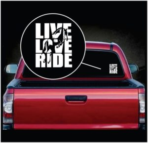 Live Love Ride Horse Decal Sticker