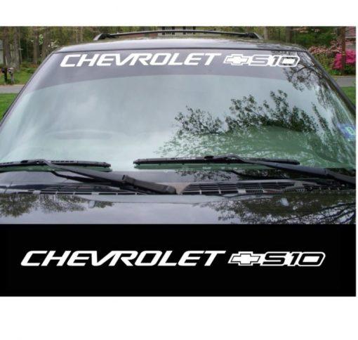 chevrolet s10 windshield decal sticker