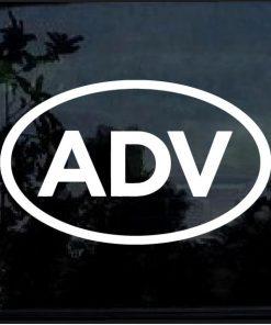 ADV decal sticker adventure dual sport touring