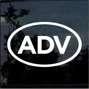 ADV decal sticker adventure dual sport touring