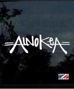 Ainokea Aloha Hawaii Decal Sticker