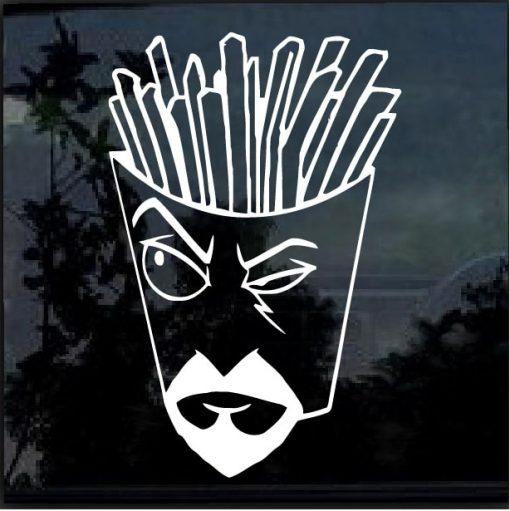 Aqua Teen Hunger Force Frylock Decal Sticker