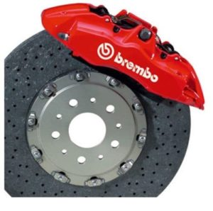 Brembo Brake Caliper Decal Set of 2 stickers a