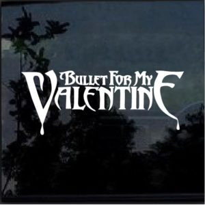Bullet for my Valentine Decal Sticker