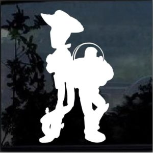Buzz & Woody Disney Decal Sticker