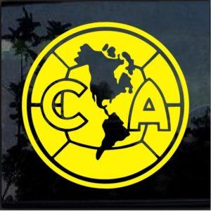 CA Club America Soccer decal sticker