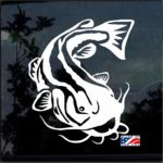 Catfish Fishing Decal Stickers