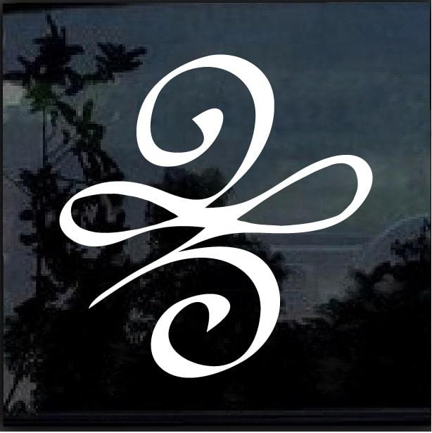 Celtic New Beginnings Symbol Knot Window Decal Sticker Custom