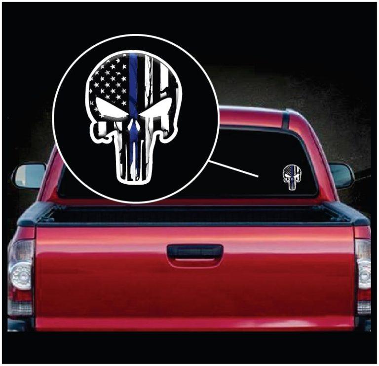 Punisher Vinyl Decal Sticker Car Truck Window