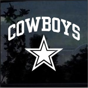 Dallas Cowboys Decal Sticker