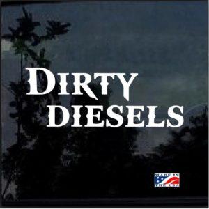 Dirty Diesel Decal Sticker a3