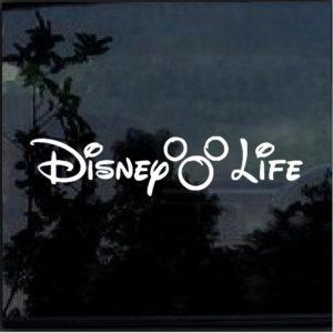Disney Life Decal Sticker