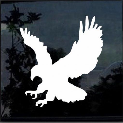 Eagle silhouette decal sticker