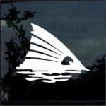 Fins up Redfish Fishing Decal Stickers