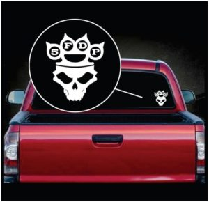 Five Finger Death Punch 5FDP - Car Window Decal Sticker a2