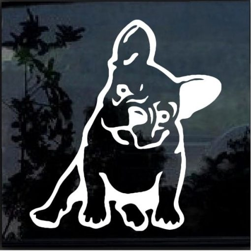 French Bulldog Decal Sticker a3