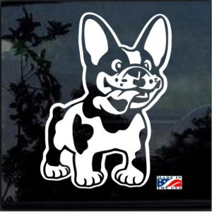 French Bulldog Decal Sticker a4