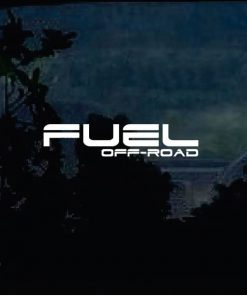 Fuel Off Road Truck Decal Sticker