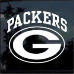 Green Bay Packers Window Decal Sticker