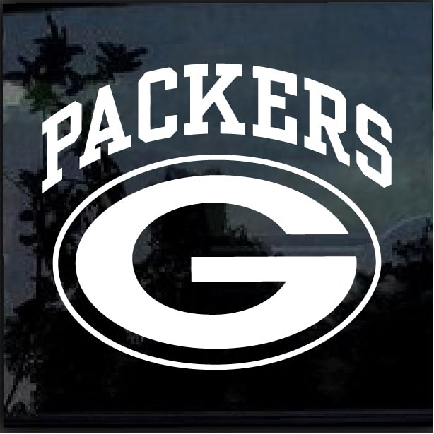 dbf9be1c7c3 Green Bay Packers Window Decal Sticker – Custom Sticker Shop