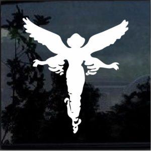 Guardian Angel Decal Sticker