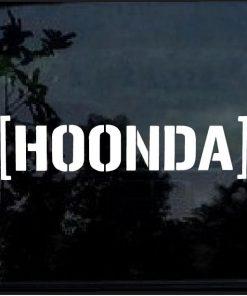 HOONDA hoonigan civic S2000 JDM EG EK CRX Decal sticker