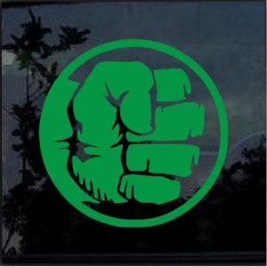 Hulk Fist Decal Sticker