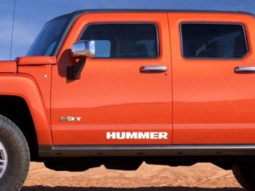 Hummer h2 h3 Side Skirt Decal sticker set of 2
