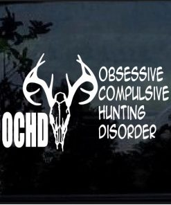 Hunting Disorder Decal Sticker