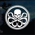 Hydra Marvel Agents Shield Window Decal Sticker