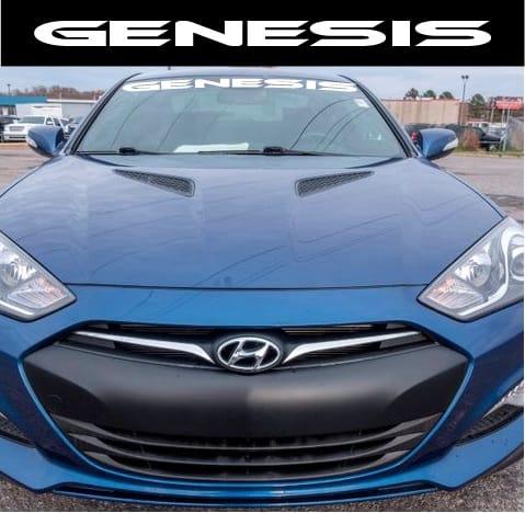 Hyundai Genesis Windshield Decal Sticker