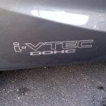 I-vtec DOHC Honda Decal side skirt decal sticker set of 2 10x2