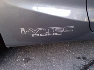 I-vtec SOHC Honda Decal side skirt decal sticker set of 2 10x2