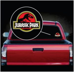 Jurassic Park Full Color Decal Sticker