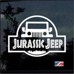 Jurassic Park Jeep Decal sticker