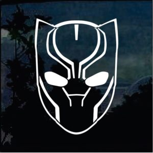 Marvel Avengers Black Panther Window Decal Sticker